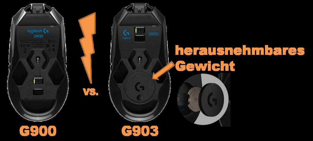 Logitech G900 vs G903